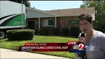 Abortion clinic loses lawsuit, assets seized