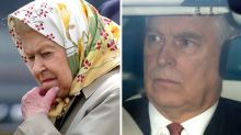 Queen 'deeply upset' by Prince Andrew scandal