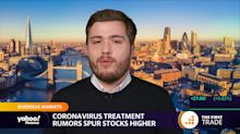 Coronavirus treatment rumours spur stocks higher