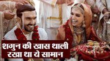 Deepika & Ranveer Wedding: Here's what Deepika got in her Konkani Shagun Thali
