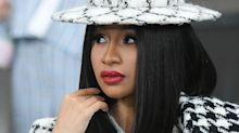 Cardi B just revealed her new pearly braids and fans spotted a secret message