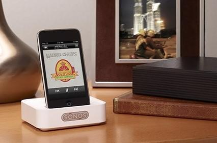 Sonos Wireless Dock for iPod and iPhone is out now for $119