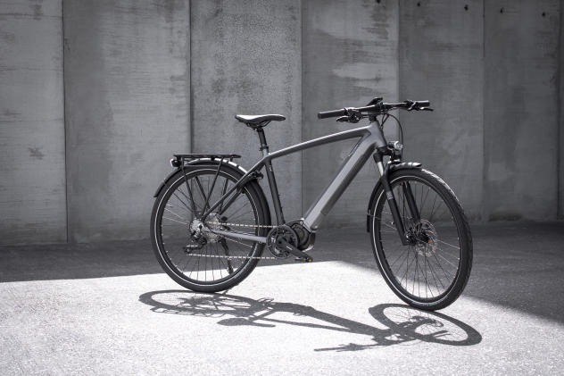 The Trekker GT is Triumph's first electric bicycle