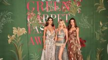 This Year's Green Carpet Fashion Awards Turn Social Distancing Into Virtual Wizardry
