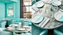 Tiffany Blue Box Café正式開幕!女生快去模仿《Breakfast at Tiffany's》的柯德莉夏萍!