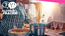 Alltagsfrage: Hilft Öl im Kochwasser wirklich, damit Spaghetti nicht verkleben?