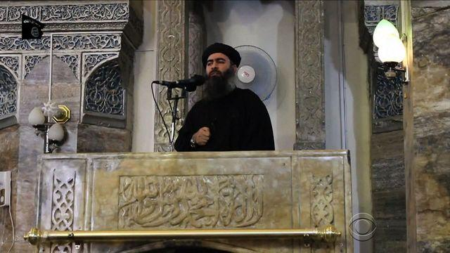 Emerging from shadows, ISIS leader purportedly makes first public appearance