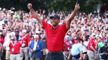 Tiger Woods completes comeback with first win in five years