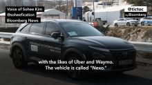 Hyundai Uses Pyeongchang Olympics to Show Off New Self Driving Car