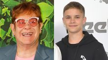 Elton John Sings Happy Birthday to Godson Romeo Beckham In Family Celebration -- Watch!