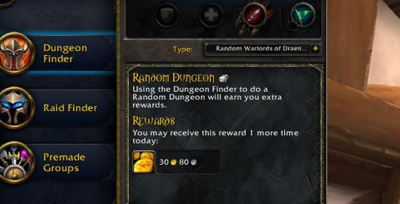 Scenarios, daily quests, and events in Warlords