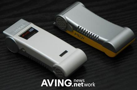 Inkel's portable AirwayHD tuner compresses files on its own