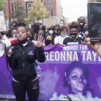 Black women lead protest in Louisville to honor Breonna Taylor