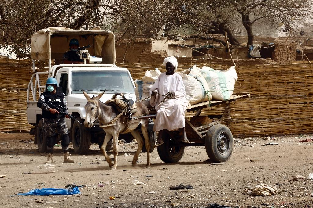 More than 2.5 million people displaced by the conflict in Darfur which began in 2003 live in the vast region of western Sudan (AFP Photo/Ashraf Shazly)