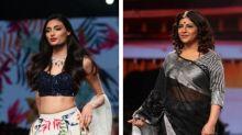 LMIFWSS20: Athiya Shetty & Shazia Ilmi Stun In Muted Make-up Looks