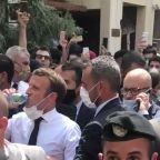 'Do Not Give Money to Our Government, We Don't Trust Them,' Beirut Local Tells Macron During Visit