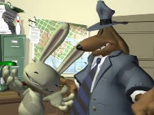 Sam and Max scope out the DS