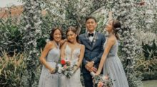 """Slater Young and Kryz Uy say """"I do"""""""