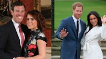Here's How Princess Eugenie's Wedding Invitations Compare to Other Royal Couples Through the Years