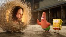 """Le nouveau film """"Bob l'éponge"""" avec Keanu Reeves sort le 5 novembre sur Netflix"""