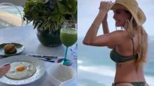 Deborah Secco compartilha dieta do programa de emagrecimento de Mayra Cardi