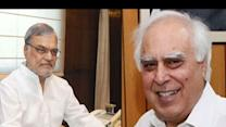 Kapil Sibal is the new Law Minister, CP Joshi to head Railways
