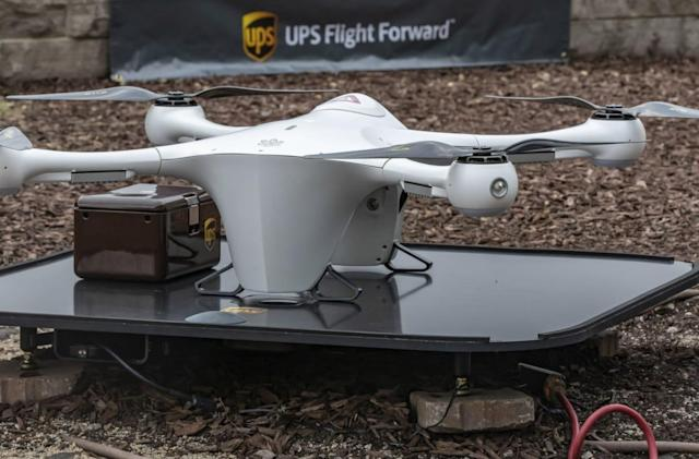 UPS delivery drones are on the way after FAA certification
