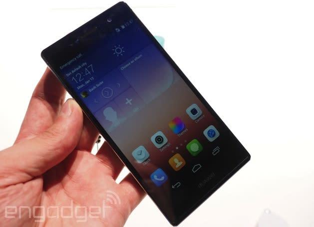 Huawei's Ascend P7 Sapphire Edition is elegantly tough