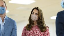 William and Kate have relatable problem as they try to have a conversation through their masks on royal visit