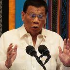 Philippines' Duterte defends China gambit in annual address