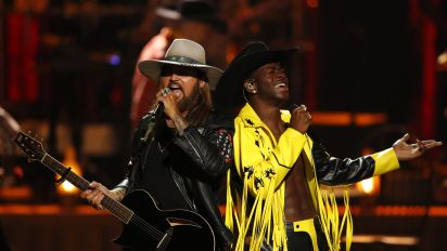 Billy Ray Cyrus, Lil Nas X make BET Awards history