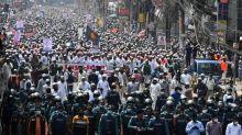 Bangladesh: dizaines de milliers de manifestants contre la France