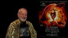 """Terry Gilliam, alegre y sonriente tras sufrir un derrame: """"No iba a ser como Orson Welles, yo iba a terminar Don Quijote"""""""