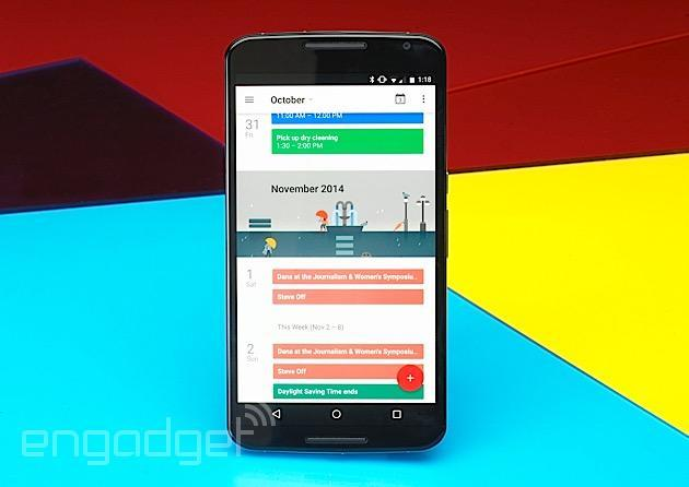 Google's Nexus 6 is back in the UK Play Store