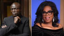 Seal slams Oprah for being 'part of the problem' following Golden Globes speech