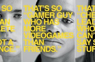 New ad campaign attempts to discourage use of 'gay' as disparagement