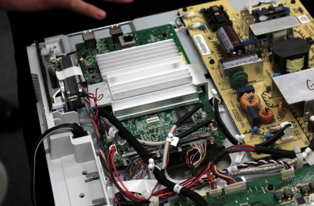 Sony Internet TV with Google TV ripped apart, messy Intel internals exposed