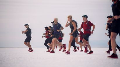 'It's like walking on the moon' - is this the future of distance running?