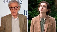 Woody Allen asegura que Timothée Chalamet lo repudió ante el #MeToo para alcanzar al Óscar
