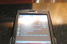 Verizon preparing a Samsung i760 world phone?