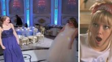 This Bride And Bridesmaid's 'Lizzie McGuire' Dance Is Everything