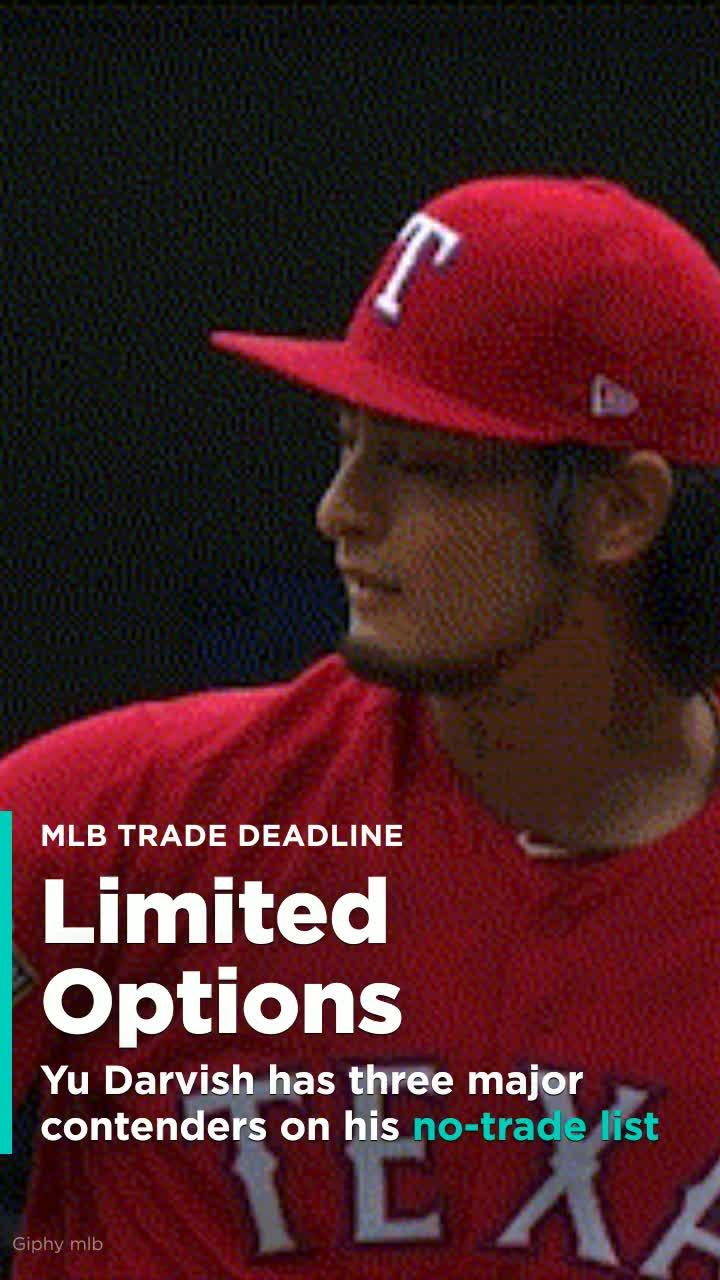 Yu Darvish has three major contenders on his no-trade list ...