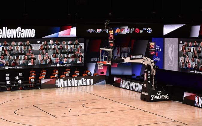 NBA Microsoft Teams