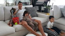 Cristiano Ronaldo Keeping Fit Inside Multi-million Dollar Mansion