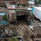 Storm Amanda leaves at least 18 dead in Central America