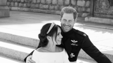 Royal photographer discusses the 'magical' moment behind Prince Harry and Meghan Markle's wedding portrait