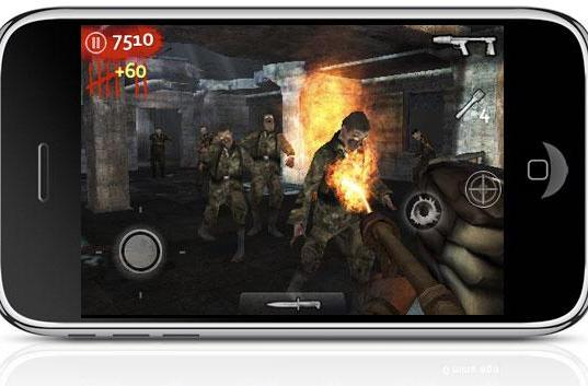 Achtung! Call of Duty: World at War: Zombies infests iPhone