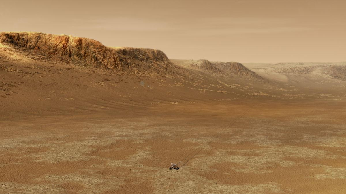 NASA says some Earth organisms could temporarily survive on Mars - Engadget