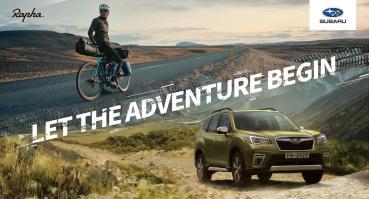 Subaru首攜手英國自行車服飾品牌Rapha合作、引領消費者創造舒適高質感行車體驗!