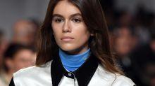 Kaia Gerber Makes Her Catwalk Debut at Calvin Klein